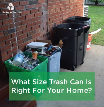 How To Choose The Right Size Trash Can For Your Home