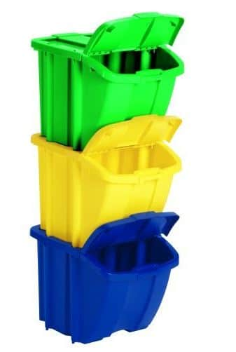 three compartment Recycle Bin Kit