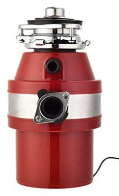 KUPPET Garbage Disposals 1 HP red color