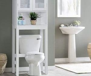 Top #10 : Best Over the Toilet Storage