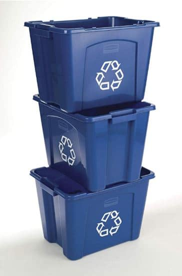 Rubbermaid Commercial Stackable Recycling Bin